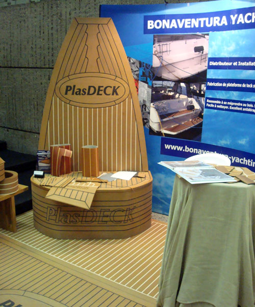 Покрытие для палубы PlasDeck